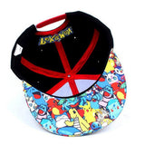 Pokemon Printed Brim Cap Hat