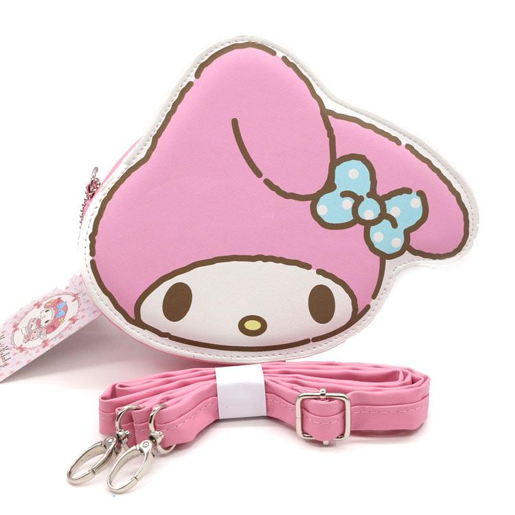 Sanrio Hello Kitty - My Melody Messenger Bag With Removable Cross Body Strap Shoulder Handbags Disney