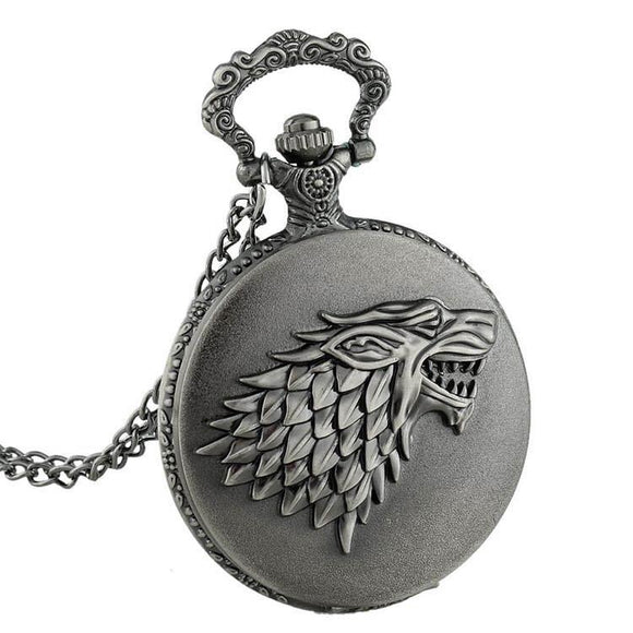 Game Of Thrones Winterfell Pocket Watch