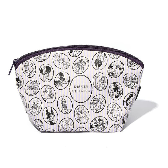 Disney Villains Makeup Cosmetics Bag - Undead Inc Cosmetics Bag,