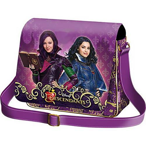 Disney Descendants Mal & Evie Messenger Bag - Undead Inc Messenger Bags,
