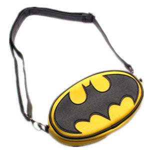 Batman Logo Unisex Cross Body Bag - Undead Inc Shoulder Handbags,