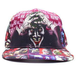 The Joker Comic Book Cap Hat
