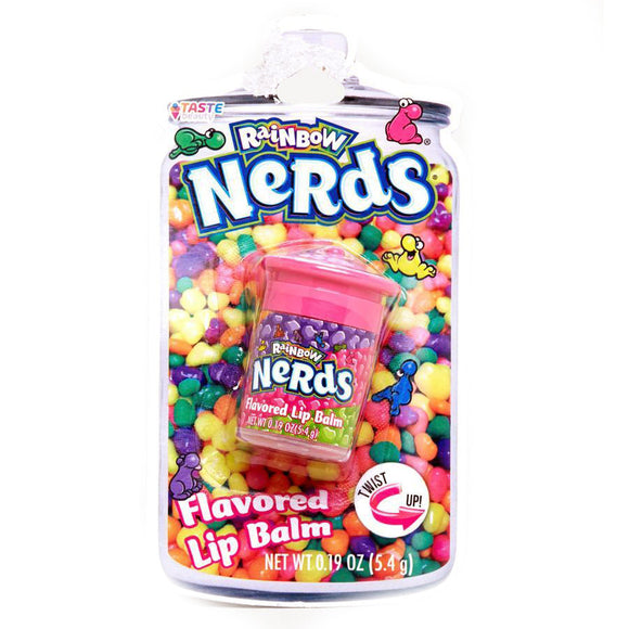 Wonka Rainbow Nerds Candy Jar Flavoured Lip Balm