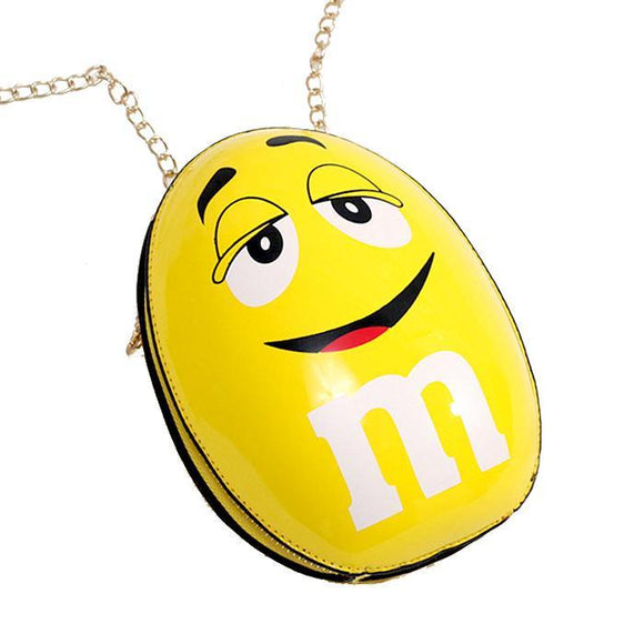 M&M's Yellow Peanut Shoulder Bag Clutch