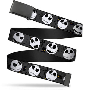 Nightmare Before Chsitmas Jack Skellington Unisex Web Belt