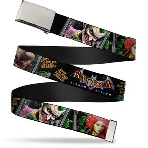 Batman Joker Arkham Asylum Unisex Web Belt