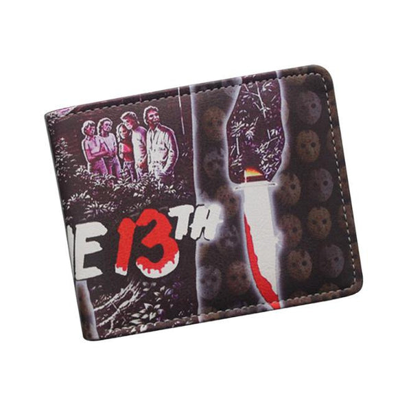 Friday 13th Jason Voorhees Wallet - Undead Inc Wallet,