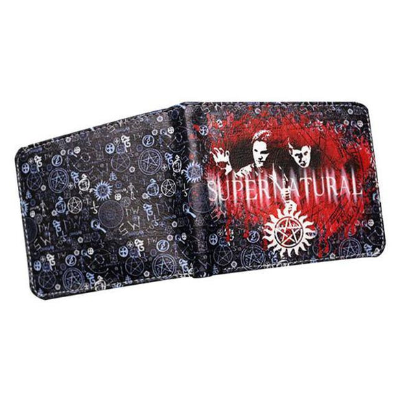 Supernatural PU Leather Bifold Wallet