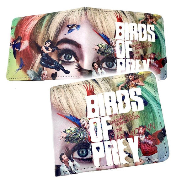 Harley Quinn Birds Of Prey Pu Leather Wallet