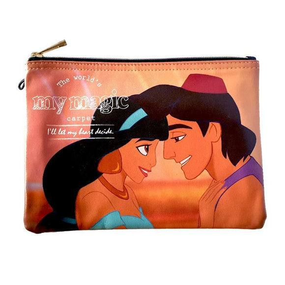 Aladdin & Jasmine Makeup Cosmetics Bag