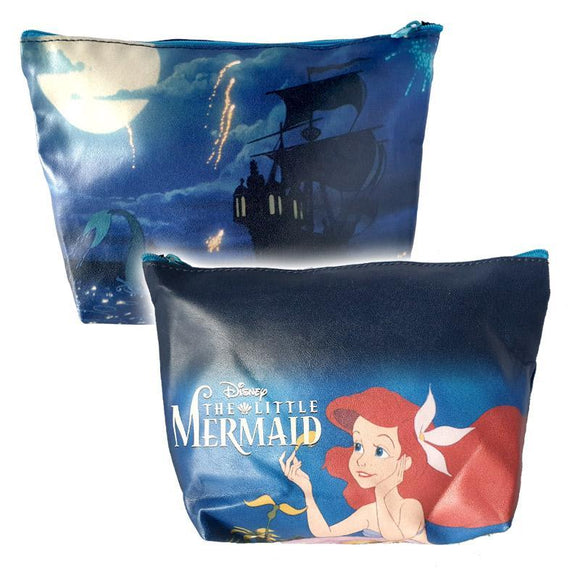 The Little Mermaid Ariel Makeup Cosmetics Bag