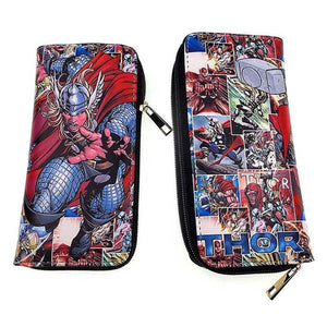 Thor Comic Strip Long Line Wallet Purse