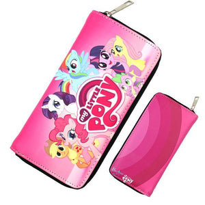 My Little Pony Pink Rainbow Long Line Wallet