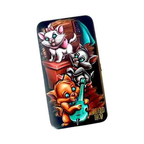 Aristocats Undead Inc Hinge Long Line Wallet