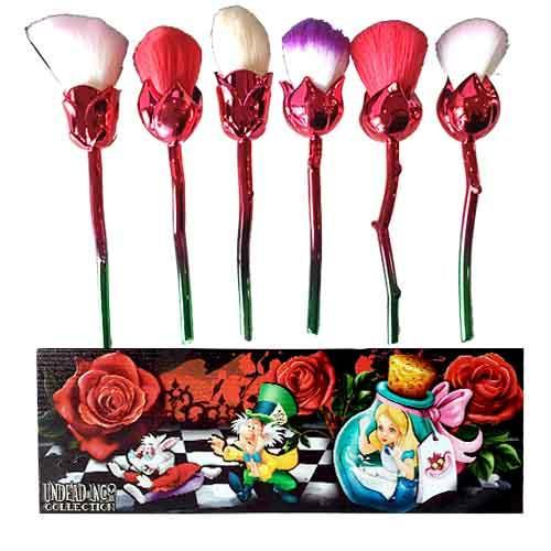 Painting The Roses Red Undead Inc Collection - Makeup Brush & Holder Set