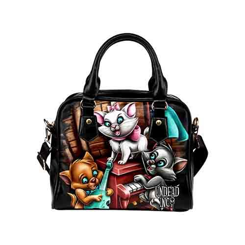 Undead Inc Aristocats Jazz Shoulder / Hand Bag