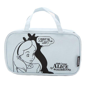 Disney Alice in Wonderland Bit Lost Comic Book Style Makeup Cosmetics Bag - Undead Inc Cosmetics Bag,