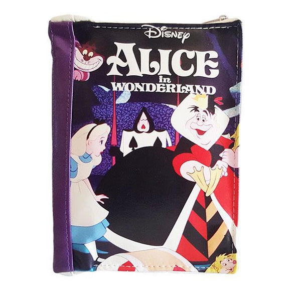 Disney Alice in Wonderland Story Book Makeup Cosmetics Bag - Undead Inc Cosmetics Bag,