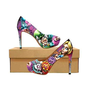 Wonderland Of Melted Dreams Platform High Heels