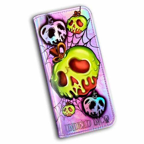 Poison Apple Undead Inc Hologram Long Line Wallet Purse