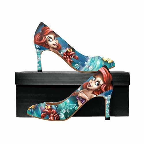 Ariel Under The Sea MEDIUM High Heels - Undead Inc High Heels,
