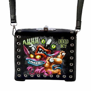 AHH! Real Monsters Undead Inc Shoulder / Hand Bag - Undead Inc Shoulder Handbags,