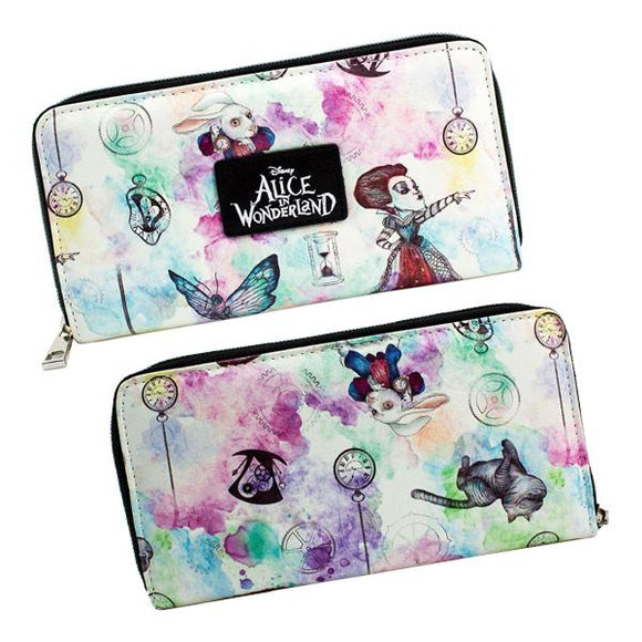 Tim Burton's Alice In Wonderland Disney Long Line Wallet Purse