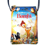 Disney Bambi Mobile Phone Passport Bag Cross Body/ Shoulder - Undead Inc Shoulder Handbags,