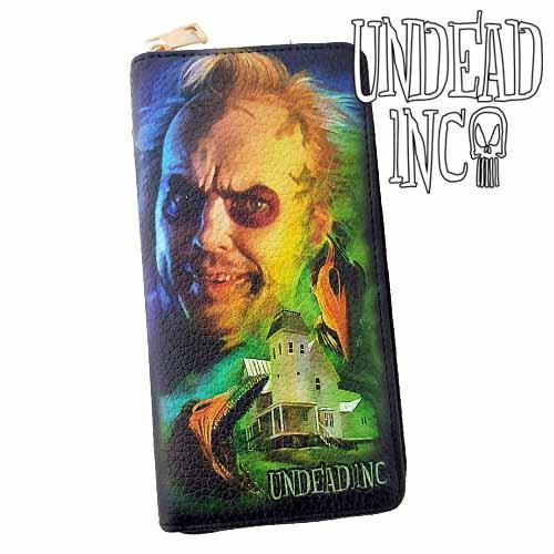 Beetlejuice House Undead Inc Premium Pu Leather Long Line Wallet