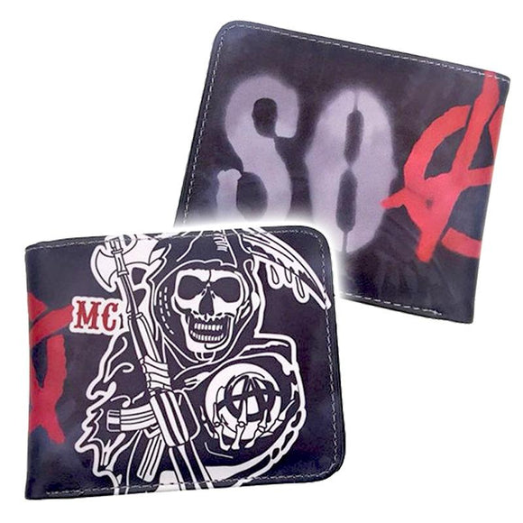 Sons Of Anarchy Spray Paint Wallet