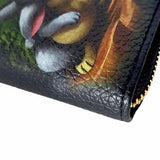 Bambi & Thumper Undead Inc Premium Pu Leather Long Line Wallet
