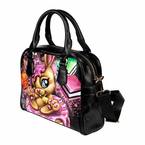 Undead Inc Donut Bunny Candy Shoulder / Hand Bag