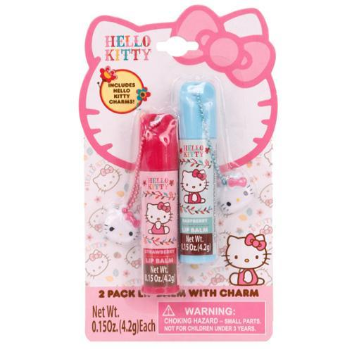 Hello Kitty Lip Balm Set Of 2