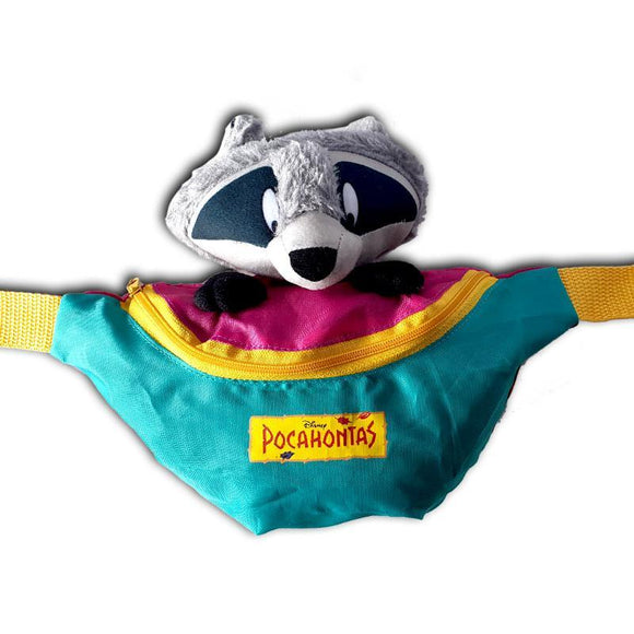 Pocahontas Meeko Raccoon Waist Bum Bag