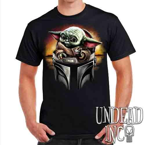 The Child Mando Helmet - Mens T Shirt