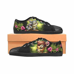 Bambi & Thumper LADIES Canvas Shoes - Undead Inc Women's Canvas Shoes,