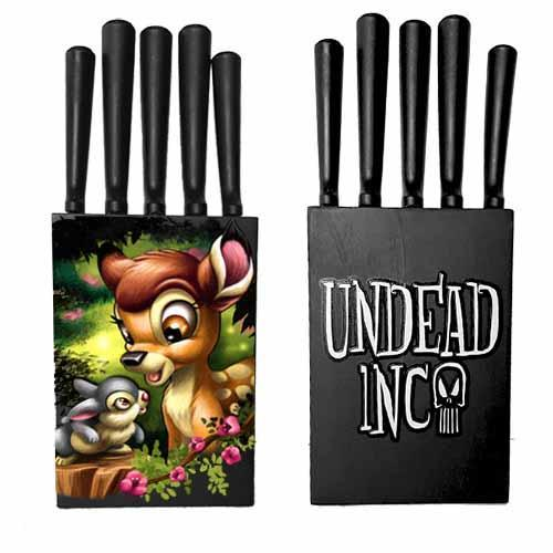 Bambi & Thumper Undead Inc Kitchen Knife Set
