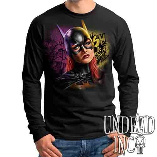Batgirl - Mens Long Sleeve Tee
