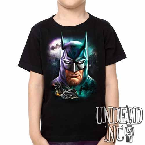 Batman - Kids Unisex Girls and Boys T shirt Clothing - Undead Inc Kids T-shirts,