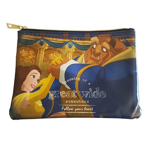 Disney Beauty & The Beast Dreaming Makeup Cosmetics Bag - Undead Inc Cosmetics Bag,