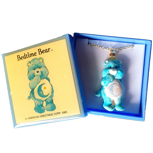Care Bears 1985 - Bedtime Bear NECKLACE