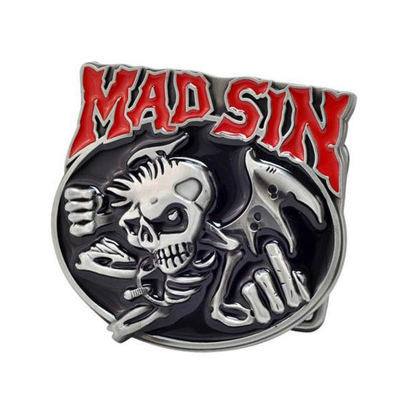 Mad Sin Psychobilly Belt Buckle
