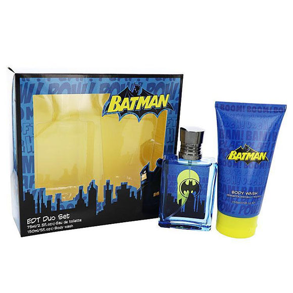 Batman Cologne & Body Wash Set - Undead Inc Fragrance,