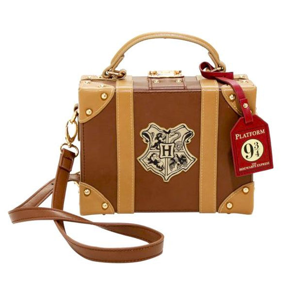 Harry Potter Hogwarts Crest Trunk Handbag / Cross Body Shoulder Bag