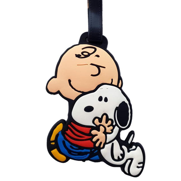 Snoopy & Charlie Brown Bag Tag