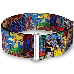 Beauty & The Beast Stained Glass Window Waist Belt