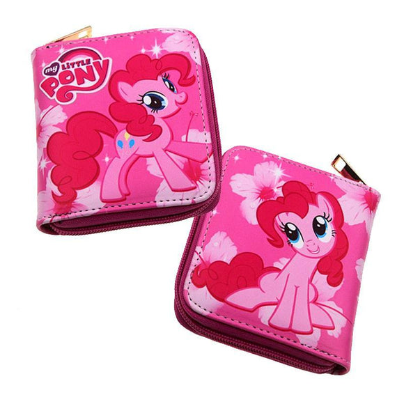 My Little Pony Pinkie Pie Short Style PU Leather Wallet