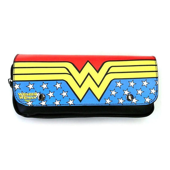Wonder Woman PU Leather Cosmetics - Toiletries Bag