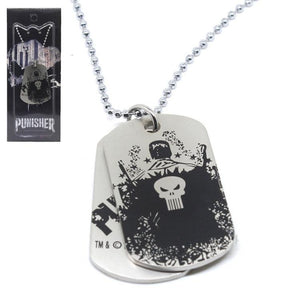 Punisher Dog Tags Necklace